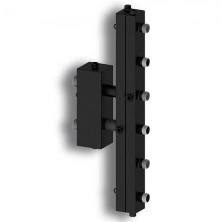Гидравлический разделитель с коллектором на три контура Север-V3 (до 70 кВт) вертикальный