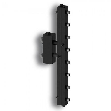 Гидравлический разделитель с коллектором на четыре контура Север-V4 (до 70 кВт) вертикальный